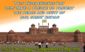 lal kila, red fort, red fort flag, happy independence day 2019, quotes for independence day