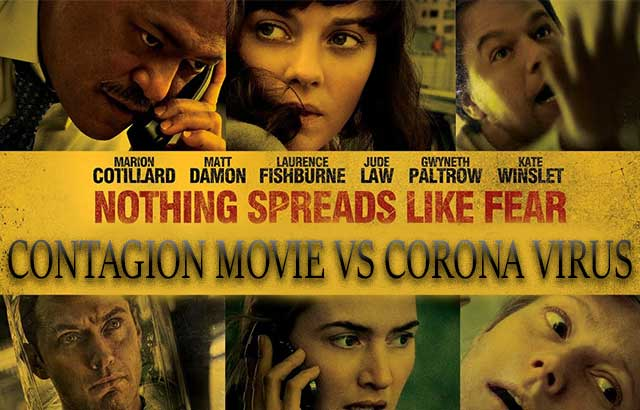 Contagion vs Corona : Movie Predicted 2020 Pandemic