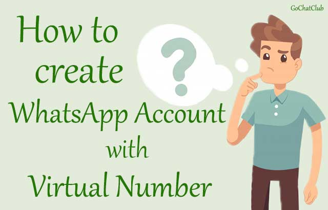 Create WhatsApp Account With Virtual Number [working]