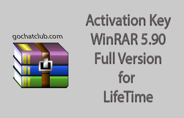 Download WinRAR 5.90 Full Version For Windows
