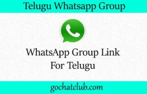 Telugu WhatsApp Group Links 500+
