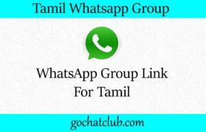 Join Tamil WhatsApp Group Link 2020