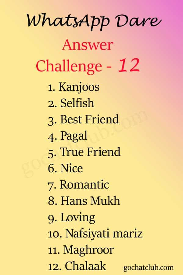 date challenge12